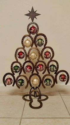 Horseshoe Christmas Tree | Our Products | Pinterest | Horseshoe ...