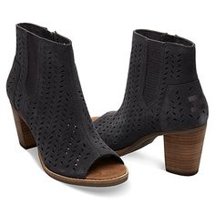 3e9d78165c8 The Toms Women s Majorca Peep Toe Booties is an airy