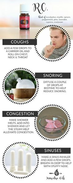 BENEFITS AND USES FOR R.C. ESSENTIAL OIL