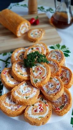 Appetizers For Party, Appetizer Recipes, Cake Recipes, Dessert Recipes, Serbian Recipes, Salty Foods, Food Decoration, Cooking Recipes, Healthy Recipes
