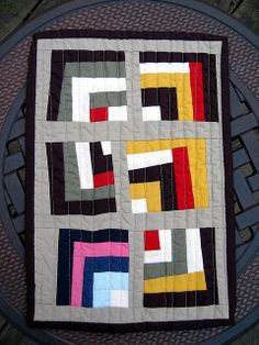 Gee's Bend Mini Quilt