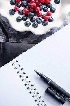 Bullet journal - free dot grid printable