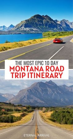 Planning a Montana road trip? Here's the best road trip route for 10 days in Montana, including all the best things to do in Montana! Montana bucket list | Montana road trip itinerary | Montana Wyoming road trip | Glacier National Park road trip | road trip itinerary for Montana | best places to visit in Montana | where to go in Montana | Montana summer road trip | hikes in Montana | best stops on a Montana road trip | Montana road trip map | Montana vacation | Montana itinerary