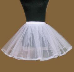 2 Layer Petticoat Crinoline Slip Fort Short Dresses  Read More:     http://www.weddingsred.com/index.php?r=2-layer-petticoat-crinoline-slip-fort-short-dresses.html