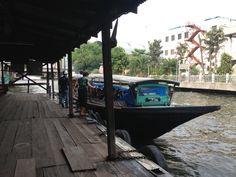 Canal Boat Bangkok Khlong Saen Saep on http://www.livingincmajor.com/canal-boat-bangkok-khlong-saen-saep-boat-service