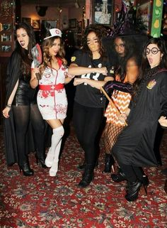 Lolo is a vampire & Camz is a HP wizard, I chose my faves well :)