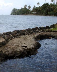 Cave pool in Western Samoa