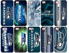 Brand New NFL Seattle Seahawks Iphone 5 5s Hard Shell Case Cover[3]