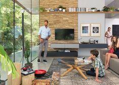 TV & Audio oplossingen | Interieur Paauwe Zonnemaire Tv Wall Decor, Tv Unit, Audio, Loft, Pure Products, Team 7, Outdoor Decor, Furniture, Home Decor