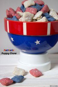 Patriotic Puppy Chow