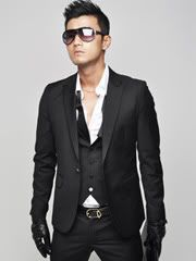 Black One Button Skinny Blazer - I ordered this item last night (hot Asian guy not included, sadly)