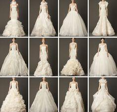 In 'Organza Heaven': Vera Wang Fall 2013 Bridal Collection. http://www.modwedding.com/2013/05/09/in-organza-heaven-vera-wang-fall-2013-bridal-collection/ #wedding #weddings #fashion