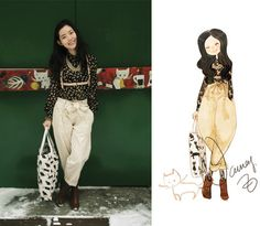 Nancy Zhang - See By Chloé Pants, Zara Shirt, H&M Boots - Sunshine,cats and me