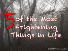 """""""Life doesn't have to be a nightmare if you remove the frightening things from your life.""""  NEW POST: 5 of the Most Frightening Things in Life  Enjoy and please share with a friend.  Join our email club at www.mtnuniversal.com to receive your very own blog updates and more.  Be the wEiRd this world needs!  Blog Page - http://www.mtnuniversal.com/mtn-universal-blog/ Follow us on Twitter - https://twitter.com/FearNotBeWeird Like us on Facebook - https://www.facebook.com/mtnuniversal"""