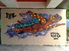 Turtles Geo: Em Lisboa, no bairro de Telheiras.
