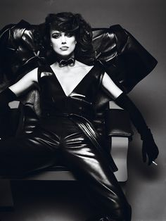 Keira Knightley posed for Mert Alas and Marcus Piggott for Interview magazine.