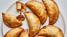 There are as many variations of empanadas as there are cooks in Argentina. This version was developed by BA contributor Gaby Melian, who is from Buenos Aires and was taught as a little girl by family members how to make them. After years of perfecting her method, she prefers the empanadas baked, not fried, and the addition of green olives and raisins in the filling is essential.