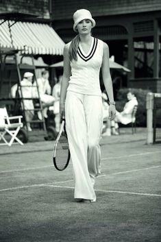 Ralph Lauren playing homage to sporting style - Le Grand Mag Tennis Photos, Sport Fashion, Womens Fashion, Stylish Mens Outfits, Sporty Chic, Sport Wear, Preppy, Ralph Lauren, Style Inspiration