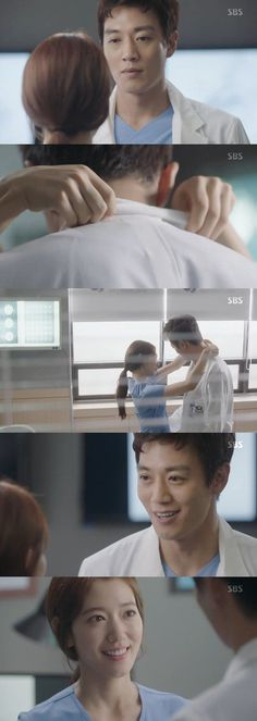[Spoiler] 'Doctors' Kim Rae-won anticipates hug from Park Shin-hye, he soon gets disappointed