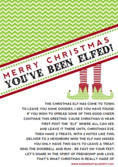 holiday christmas printable