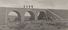 [Ottoman Empire] Bridge on the 283th Km of the Hijaz Railway, 1900s (Hicaz Demiryolunun 283.km'sindeki Köprü)