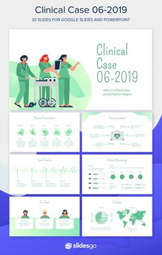 Set forth a clinical case presentation using this free medical template for Google Slides and PowerPoint Powerpoint Background Design, Powerpoint Design Templates, Powerpoint Template Free, Creative Powerpoint, Ppt Design, Graphic Design, Case Presentation, Presentation Templates, Branding