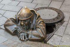 11. Hombre en el trabajo, en Eslovaquia, Bratislava