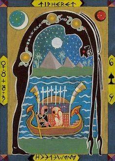 Kazanlar Tarot- Six of Swords - Nut