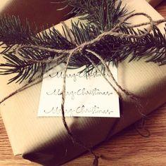 DIY Christmas Wrapping