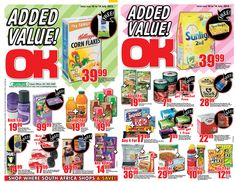 OK Grocer Danabaai's amazingly low prices valid until 14 July 2013 Corn Flakes, Watch This Space, Family Values