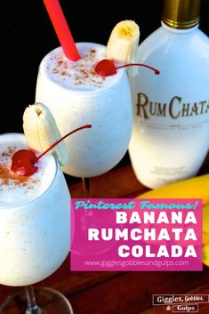 Rumchata Drinks, Rumchata Recipes, Liquor Drinks, Cocktail Drinks, Fun Drinks, Yummy Drinks, Beach Cocktails, Prosecco Cocktails, Fruity Cocktails