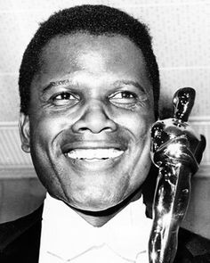 "The tall, handsome and gifted Sidney Poitier was the first African American superstar; the first black actor to earn a best actor Oscar for 1963's ""Lilies of the Field"" and the first to be the top box-office draw in 1968."