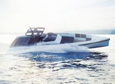 Wally One is the latest creation from our favorite shipyard, Wally Yachts. This is the ultimate day boat, it features a host of modern conveniences and is perfect for water sports, diving expeditions or simple relaxation. The 42 foot boat is a class Speed Boats, Power Boats, Wally Yachts, Boat Fashion, Below Deck, Yacht Boat, Boat Design, Twin Turbo, Luxury Yachts