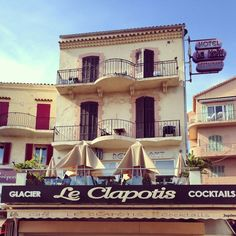 Old hotel in Le Lavandou, France. More photos from the Côte d'Azur here: http://juliangrandke.de/on-the-road/saint-tropez/