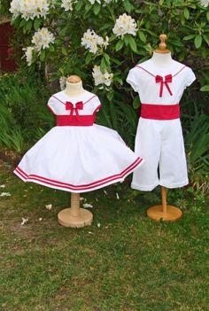 Vêtement de cérémonie pour enfant - Confection de cortège de ...
