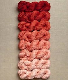 New Color! Our Cashmere Ombré Wrap in Vermilion | Purl Soho - Create