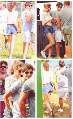 Lou & El < Love the Shorts El and The Peter Pan Collared Lace Top, to Cute! @Eleanor Smith Smith Calder