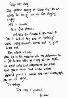 random things to write down