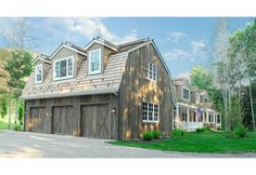 Barn style garage with living space above