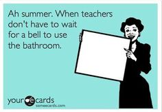 I remember having to wait until lunch and the end of school.