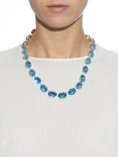 Dolce & Gabbana Swarovski-embellished necklace