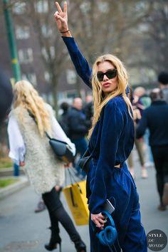 Stella Maxwell by STYLEDUMONDE Street Style Fashion Photography