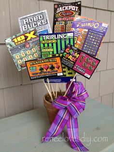The Lottery Ticket Bouquet! The perfect gift for anyone!