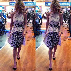 @ajrobach wears @proenzaschouler via @260samplesale  #amyrobach #proenzaschouler #260samplesale #yooying Summer Dresses, Dresses, How To Wear, Summer, Proenza Schouler, Amy Robach, Amy, Fashion
