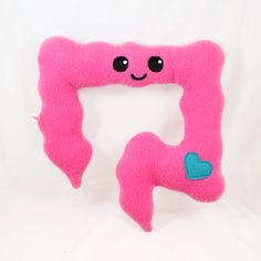 Colon plushie / kawaii comfort pillow by Plusheez on Etsy