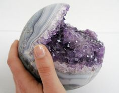 #Geode #Agate, that would be fun to find..probably in Brazil