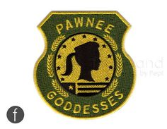 Pawnee Goddesses Badge Iron On Patch by FerdinandWorks on Etsy #patches