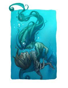 Can a mermaid love?