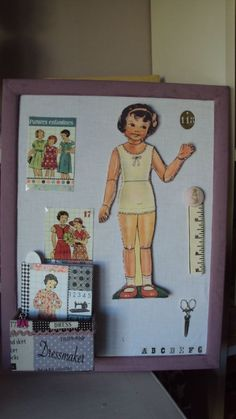 Cadre Paper Doll