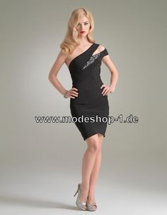 Elegantes Schwarzes Kleid Cocktailkleid